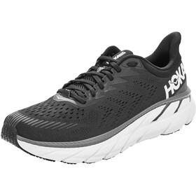 Hoka One One Clifton 7 Hardloopschoenen Heren, black/white
